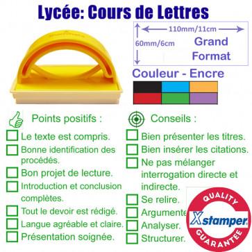 Tampon Encreur | Lycée Cours de Lettres