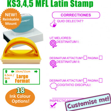 MFL Stamps | Latin Language Large Stamp