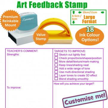 Teacher Stamps | Art Marking Stamp