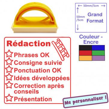 Teacher Stamp | French Language - Literacy Checklist - Dictée