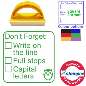 Teacher Stamp | Stage 1 of 3, Writing Self / Peer Assessment