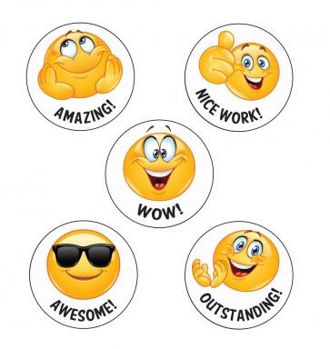 School Stickers | Fantastic! Emoji Reward Stickers