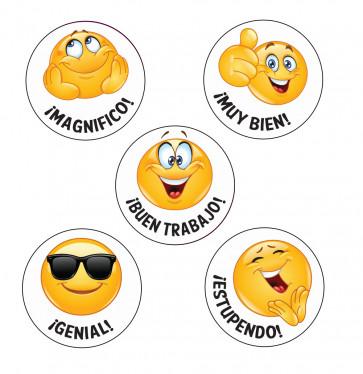School Stickers   !Magnifico! Spanish Language Emoji Stickers