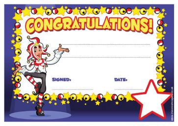 Personalised Certificates & Awards for Schools | Congratulations Certificate - School logo custom option
