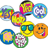 Commendable Marking Classroom Stickers for Children