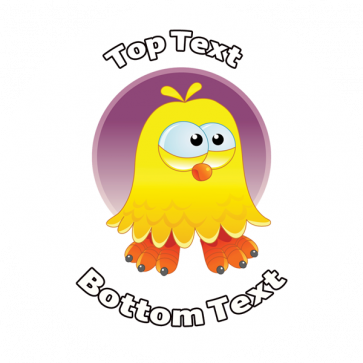 Personalised School Stickers | Happy Easter Cool Dude Chick! Design Custom Standard and Scented Stickers