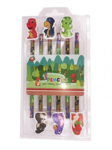 Class Gifts | Dinosaur Pencils & Topper Gift Set
