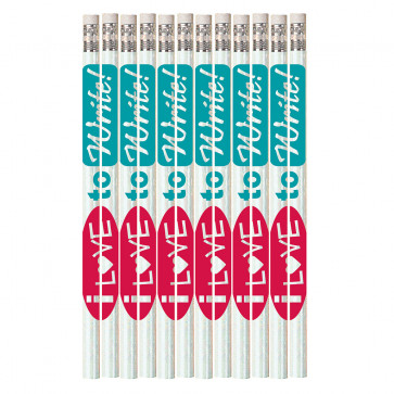Pencils for Kids | 12 x I Love To Write HB Pencils