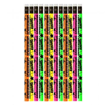 Pencils for Kids | 12 x Achievement Award Pencils.