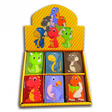 Class Gifts | Box set 48 x Cute Dinosaur Mini Notepads