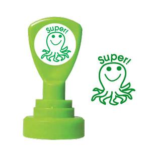 Teacher Stamps | Super! Octopus Self-inking Stamper