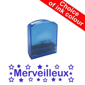 Teacher Stamps | Merveilleux Self-inking French Value Stamp Range.