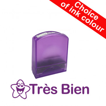 Teacher Stamps | Très Bien Self-inking. Reinkable School Stamp.