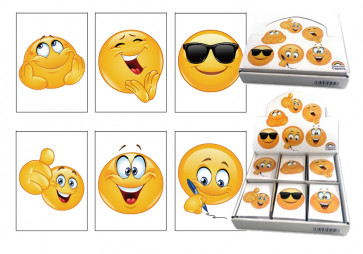 Class Gifts | Emoji Fun Design Notepads. Display Box of 48