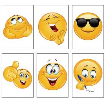 Class Gifts | 12 x Emoji Fun Design Notepads