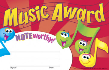 School Certificates | Music Award Certificates x 30