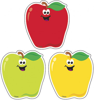 Classroom Display Picture Cards | Smiling Rosy Red Apple