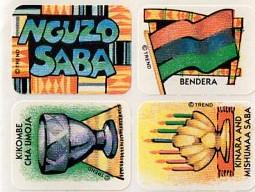 Children's Stickers | Celebrate Kwanzaa