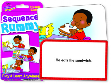 Educational Games | Sequence Rummy Challenge Flash Cards.