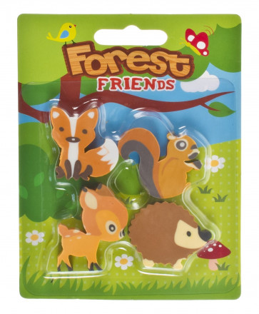 Class Gifts | Forest Friends Eraser Set
