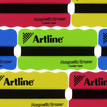 Whiteboard Eraser   Value Pack x 6 Drywipe Magnetic Groove Eraser ERT-MMG