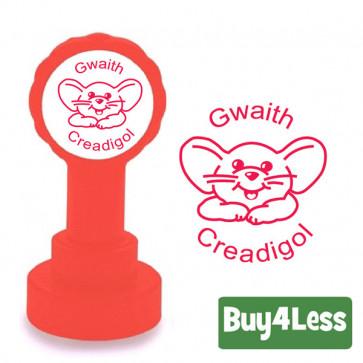 Teacher Stamps | Welsh Language Stamper - Gwaith Creadigol