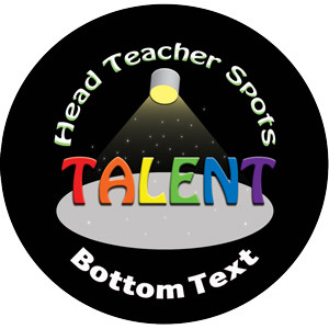 Personalised Stickers for Teachers | Head Teacher Talent Award Design to Customise for Kids