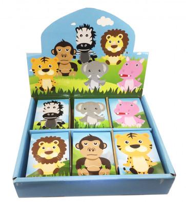 Class Gifts | 48 x Jungle Animals Mini Notepads