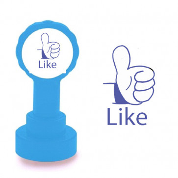 Teacher Self-Inking Stamp | Like. Facebook Style School Marking Stamp.