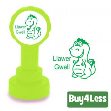 Teacher Stamps | Welsh Language Stamper - Llawer Gwell (Much Better)