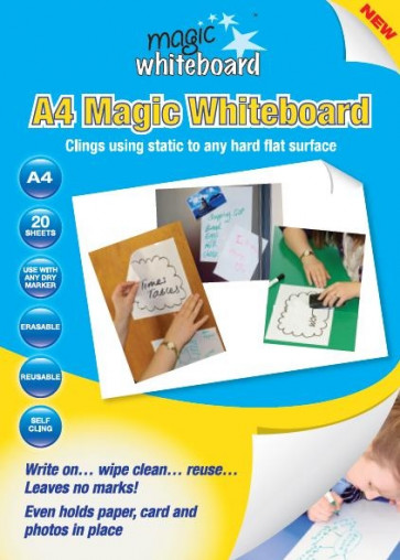 Magic Whiteboard A4 Sheets | 20 Sheet Pack