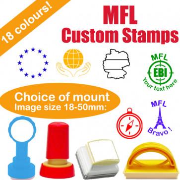 Teacher Stamps | Custom Modern Foreign Languages