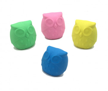 Kids Erasers | 3D Cute Owls Erasers For Party Bags & Class Gifts