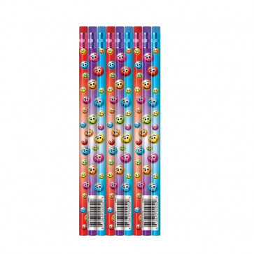 School pencils | Pack of 144 Colourful Smile Reward Pencils