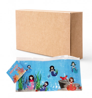 Class Gifts / Party Bags | Mystical Mermaids Pencil Cases | Bulk Stationery