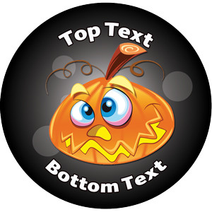 Personalised School Stickers | Halloween Design Custom Standard and Scented Stickers