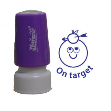 School Stamps | On Target Self-Inking Teacher Marking Stamp