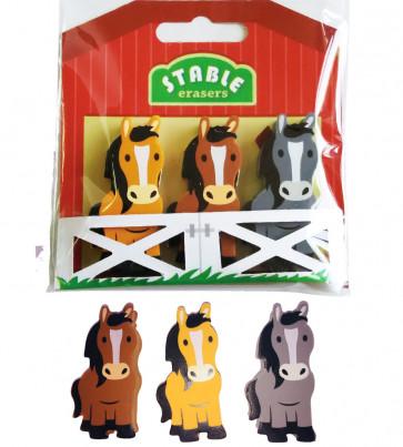 Pony Gifts | Pony Stable Eraser Set