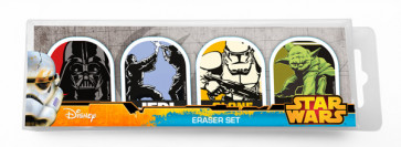 Star Wars Stationery | Pack of 4 erasers