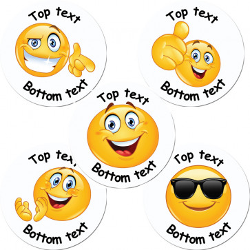 Personalised Stickers | Emoji Custom Standard / Scented Stickers