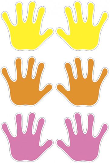 Handprints Accent Cards