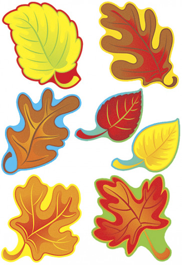 Picture Cards for Children | Autumn Leaves Variety Pack