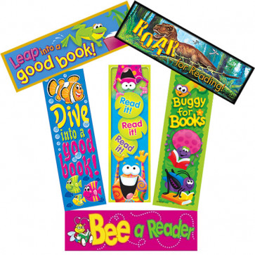 Reading Resources | Motivate Reading with these Action Design Bookmarks for Kids