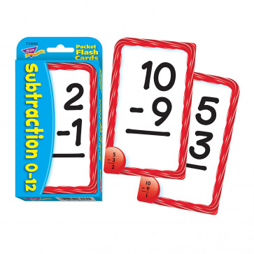 Maths Games | Subtraction Flash Cards