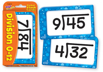 Educational Games for Children | Division Flash Cards for Schools and at Home