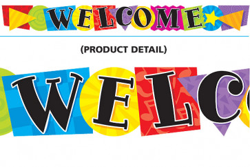 Classroom Display Banners | Welcome, Shaped Banner