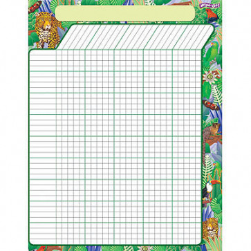 Teacher Reward Charts | Jungle Rainforest Wipe Off Design so can be Reused