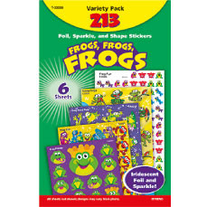 Kids Stickers | Fun Frogs Classroom Stickers Variety Pack