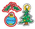 Kids Stickers | Shiny Christmas Design