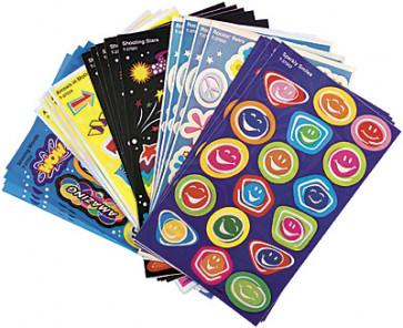 Rockin Bright Foil Shiny Kids Stickers